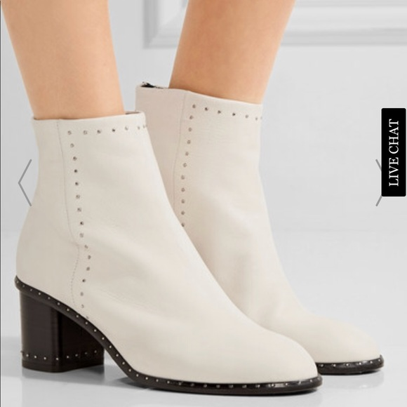 410252e581e Rag & Bone Willow Stud Boot in White. Size 37